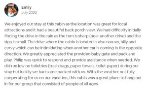 Avada Properties Pigeon Forge cabin review